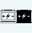 Car battery vector image vector image