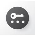 privacy icon symbol premium quality isolated key vector image