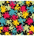 Colorful blots seamless pattern vector image