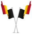 Belgium Waving Flag vector image