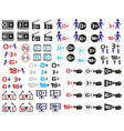 age limitation icons vector image