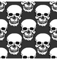black skulls print skull pattern hand drawn vector image