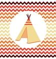 Ethnic Wigwam vector image