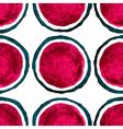watercolor polka dot seamless pattern vector image