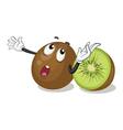 kiwifruits vector image vector image