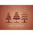 Christmas card 05 vector image vector image