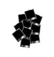 Metallic Polaroids vector image