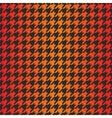 Houndstooth seamless dark gradient pattern vector image