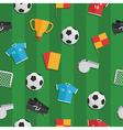 soccer pattern vector image
