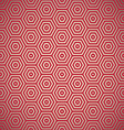 retro red seamless background vector image