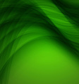 Abstract green background with wave vector image