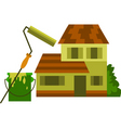 house and renovation vector image vector image