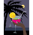 Cocktail002 vector image