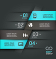 Abstract infographics communication technology Vector Image