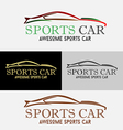 Car Sports Logo vector image