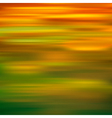 abstract green yellow motion blur background vector image