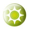 Gear icon symbol design vector image