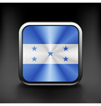 Honduras icon flag national travel icon country vector image