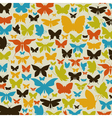 Background the butterfly vector image