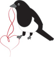 Love Bird vector image