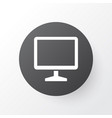 monitor icon symbol premium quality isolated vector image