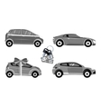 Set of Car Sale vector image