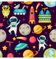 Space Background Pattern vector image