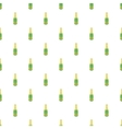 Bottle of champagne pattern cartoon style vector image