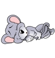 Sleeping Mouse vector image