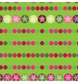Festive seamless pattern Christmas snowflakes on vector image