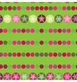 Festive seamless pattern Christmas snowflakes on vector image