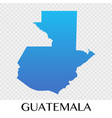 guatemala map in north america continent design vector image