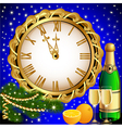 Christmas New Year Celebration Card vector image