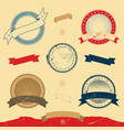 graphic banner and icons collection vector image