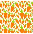Carrot Seamless Pattern Background vector image