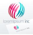 Emblem for for Business Technology Corporation vector image