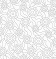 monochrome fungus seamless pattern vector image