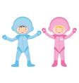 Cosmonaut kids vector image