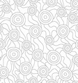 monochrome fungus seamless pattern vector image