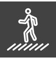 Zebra Crossing vector image