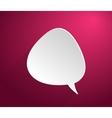 Bubble icon vector image vector image