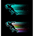 Sport running background vector image
