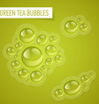 Bubbles for drink vector image