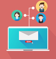 Your Email Marketing Team vector image