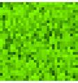Green pixel background vector image vector image