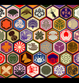 Japanese Family Crests vector image