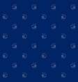 seamless sea pattern with ship vector image