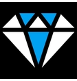 Diamond Icon from Commerce Set vector image