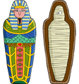 sarcophagus vector image vector image