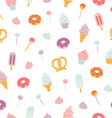 Candy bar pattern vector image vector image